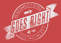When nothing goes right vector illustration ideal for printing on apparel clothes Stock Photo