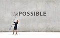Nothing is impossible Royalty Free Stock Photo