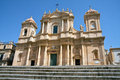 Noto, the cathedral Royalty Free Stock Photography