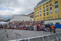 Notodden blues festival vip tribune each year the first week in august held a major in norway called nbf with famous Royalty Free Stock Photos