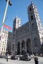Notre-Dame basilica, Montreal, Quebec, Canada Royalty Free Stock Photo