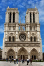 Notre Dame Cathedral, france, Paris Royalty Free Stock Images