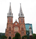 Notre Dame cathedral in Ho Chi Minh City, Vietnam Royalty Free Stock Photography