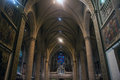 Notre-Dame Cathedral in Luxembourg Royalty Free Stock Photo