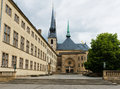 Notre-Dame Cathedral, Luxembourg Royalty Free Stock Photo