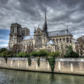 Notre Dame cathedral, Paris Royalty Free Stock Photo