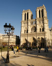 Notre Dame Cathedral Paris Royalty Free Stock Photography