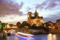 Notre Dame cathedral in Paris, France Royalty Free Stock Photos