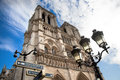 Notre Dame Cathedral, Paris, France. Royalty Free Stock Photos