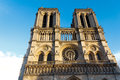 Notre dame cathedral paris france paris tourist attraction Stock Photo