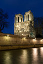 Notre dame cathedral paris ile de france france Royalty Free Stock Image
