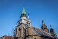 Notre-Dame-de-Bon-Secours Chapel - Montreal, Quebec, Canada Royalty Free Stock Photo