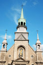 Notre Dame de Bonsecours Chapel Royalty Free Stock Photo