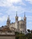 Notre Dame de Fourviere Royalty Free Stock Photo