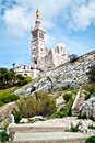 Notre-Dame de la Garde basilica Royalty Free Stock Photos
