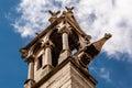 Notre dame de paris cathedral details parigi Fotografia Stock