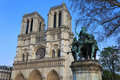 Notre Dame de Paris. Paris. France. Royalty Free Stock Photos