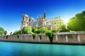 Notre Dame  Paris, France Royalty Free Stock Photo