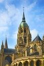 Notre för bayeux domkyrkadame france Arkivbild