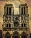 Notredame de Paris, France Royalty Free Stock Photo