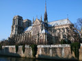 Notredame - Paris Royalty Free Stock Photo