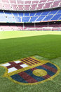 Nou Camp - Fc Barcelona stadium detail Stock Photo