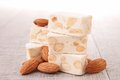 Nougat Royalty Free Stock Photography