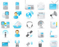 Nouve icon set: Wireless and communication Stock Photo