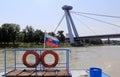 Nový Most, pohľad z lode, Bratislava