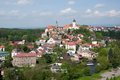 Nove mesto nad metuji czech republic panorama town from jurankova vyhlidka eastern bohemia Royalty Free Stock Image