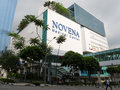 Novena medical center in singapore Stock Image