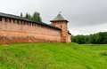 Novgorod kremlin russia wall of in veliky Stock Photos