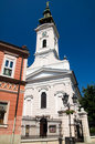 Novi Sad - Orthodox Cathedral of Saint George Royalty Free Stock Photography