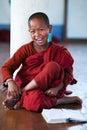 Novice monk, Myanmar