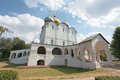 Novodevichiy convent moscow the cathedral or our lady of smolensk in russia Stock Image