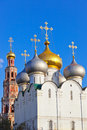 Novodevichiy convent in moscow russia architecture background Royalty Free Stock Image