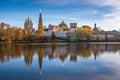 Novodevichiy monastery moscow russia convent also known as bogoroditse smolenskiy Stock Image