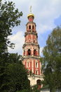 The Novodevichy Convent Stock Photo