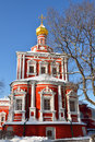 Novodevichy convent also known as bogoroditse smolensky monastery in moscow Royalty Free Stock Photography