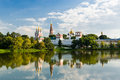 Novodevichy convent in moscow russia Stock Image