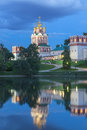 Novodevichy convent the in south western moscow built in the th and th centuries in the so called moscow baroque style was part of Royalty Free Stock Photo