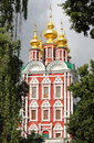 Novodevichy monastery in moscow russia Royalty Free Stock Photos