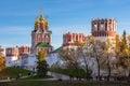 Novodevichy monastery moscow russia convent also known as bogoroditse smolensky Stock Image