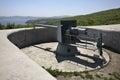 Novosiltsevskaya coast battery in Vladivostok fortress. Russian island. Russia Royalty Free Stock Photo