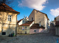 Novy svet prague czech republic old town Royalty Free Stock Image