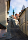 Novy svet prague czech republic old town Royalty Free Stock Images