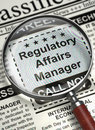 Now Hiring Regulatory Affairs Manager. 3D.