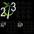 Nowego Roku kalendarz Obraz Royalty Free