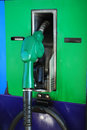 Nozzle green Stock Image