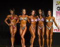 Npc universe championships tammy tennant th place carla araujo nd christine woodward st suni sweeney selena pons th compete at the Stock Images